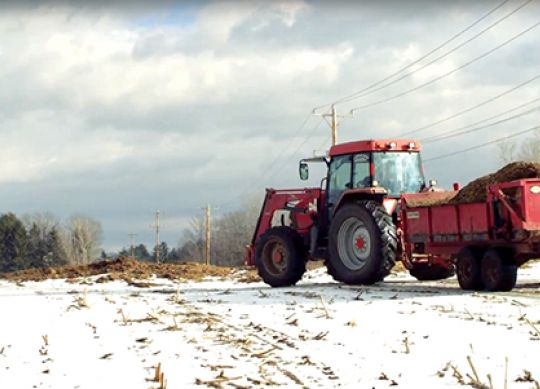 The Do's and Don'ts of Winter Manure Spreading