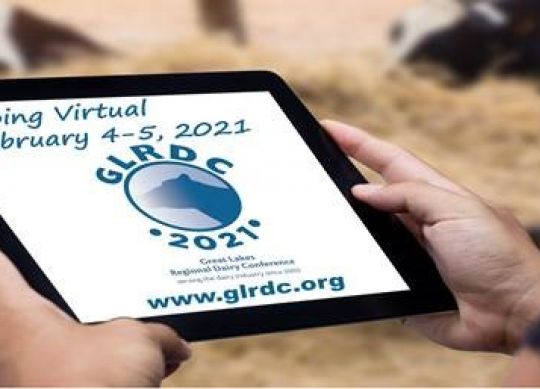 Great Lakes Regional Dairy Conference will be held virtually Feb. 4-5