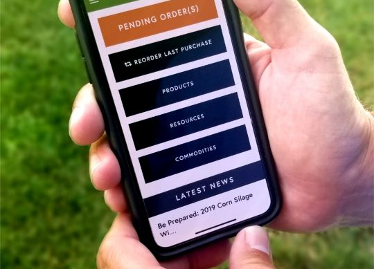 Order your feed smarter with the new app created by Nobis Agri Science