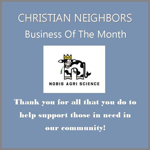 Christian Neighbors Business of the Month